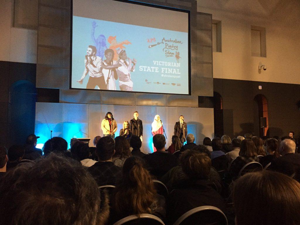 Victorian State Final - Australian Poetry Slam 16